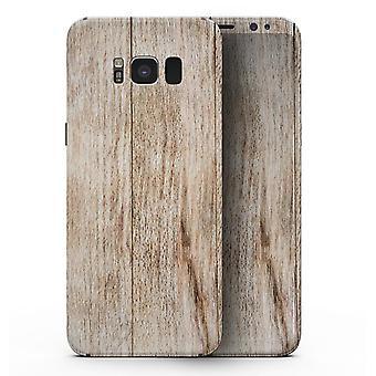 Scânduri orizontale din lemn uscate - Samsung Galaxy S8 Full-body Skin Kit