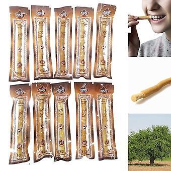 Fresh Natural Misvak Organic Vegan Herbal Twig Toothbrush