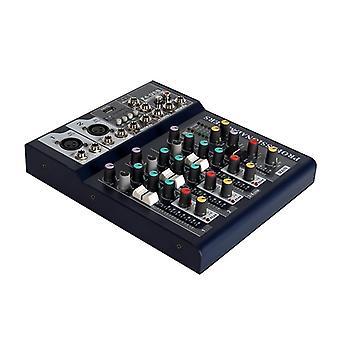 Bluetooth Ses Mikseri, Usb Dj Ses Karıştırma Konsolu, Mp3 Jakı, Karaoke Amplifikatörü