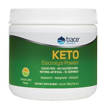 Spor mineraler KETO Elektrolyttpulver Sitronkalk, 55 Porsjoner