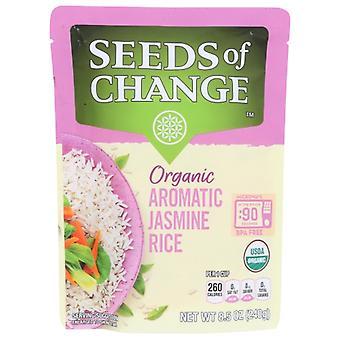 Seeds of Change Rice Jasmine, Case of 12 X 8.5 Oz