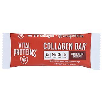 Vital Proteins Bar Collagen Pnt Btr Choc, Case of 12 X 1.8 Oz