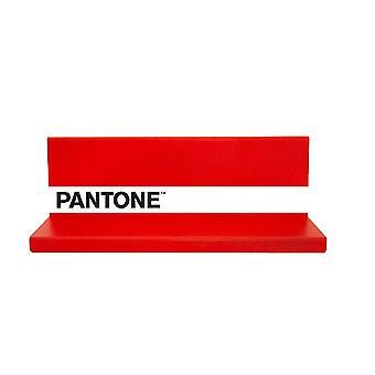 Mensola Shelfie, Colore Rosso, Bianco, Nero in Metallo, L40xP14xA13cm