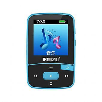 Sport Mini Clip, Mp3 Player, Hifi Music, Audio With Bluetooth-compatible Fm