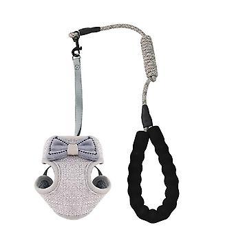 Anti-breakaway adjustable bow-knot vest cat rope