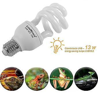 Uvb5.0/uvb10.0 Crawl Miracle Uvb 13w Energy Saving Light Reptile Light Bulb