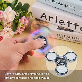Led Hand Spinner Speelgoed Schakelaar Controle Knipperende Vinger Relief Stress Toys Gift