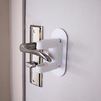 أقفال المزالج الذكية الطفل دليل قفل رافعة الباب