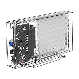 2259U3 Transparante serie Dual-Bay Harde Schijf Behuizing HDD SSD Behuizingen USB 3.0 Type-B Docking