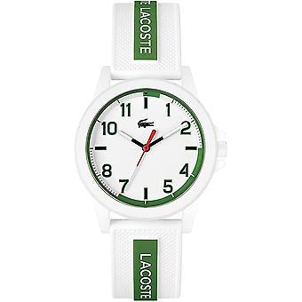 Lacoste 2020140 Children's Teen White Silicone Wristwatch