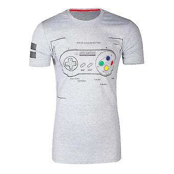 SNES Controller Super Power T-Shirt