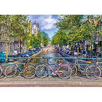 Schmidt Spring Time i Amsterdam pussel (500 stycken)