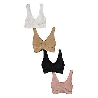 Rhonda Shear One 4-Pack Original Ahh Bra Pink 750005