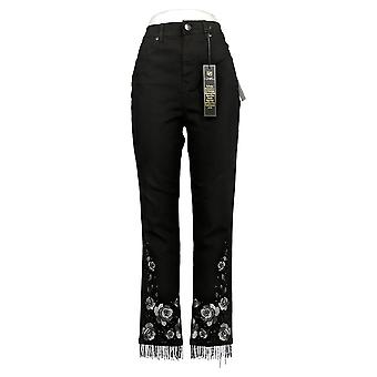 DG2 af Diane Gilman Women's Jeans Classic Nyhed Skinny Black 679797