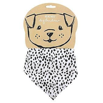 Dog apparel dalmatian dog bandana