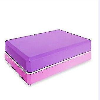 Yoga pilates blocks yoga block foam brick for stretching aid  gym  pilates  yoga etc. Dark khaki