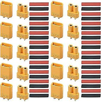 10 Pairs of high quality xt30 connectors for rc lipo model batteries