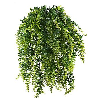 2pcs Fake Trailing Klettern Pflanzen Künstliche hängende Farne Pflanze