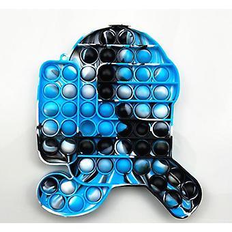 Push Pop Bubble Sensory Fidget Kids Toy It Needs Silent Autism Ease