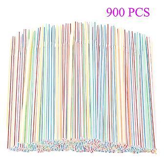 900pcs cannucce monouso in plastica per feste / bar / bevande Negozi / cannucce domestiche