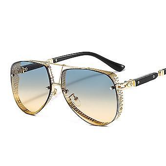 Sonnenbrille aus Metallgewebe