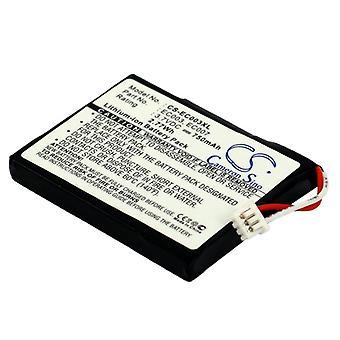 Battery for Apple iPOD Mini 4GB 6GB M9160LL/A M9800/A EC003 EC007 MP3 750mAh