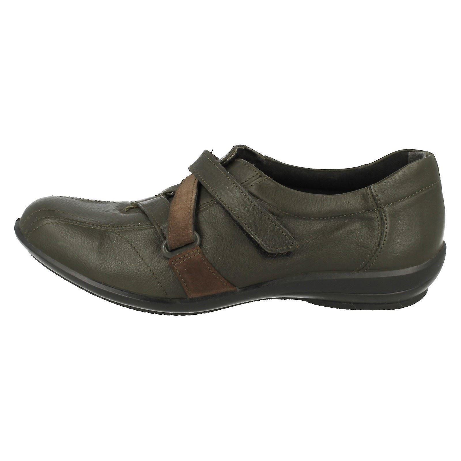 Panie szerokie dopasowanie butów Anna łatwe B LT1O9