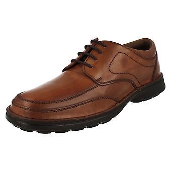 Mens Easy Flex Lace Up Smart Shoes 32010