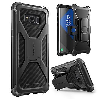 Samsung Galaxy S8 Case, i-Blason, transformator kast, 2017 Release, Dual Layer geval met Holster hoesje, s8 geval, galaxy s8