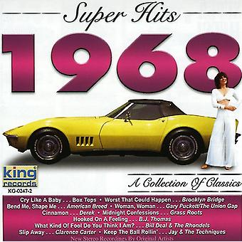 Super Hits 1968 - Super Hits 1968 [CD] EUA importar