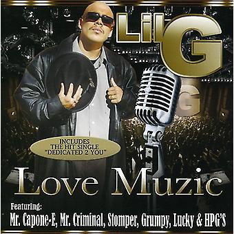Lil G - Love Muzic [CD] USA import