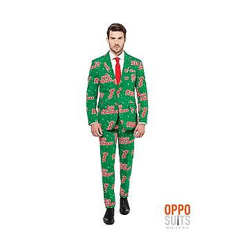 Opposuit happy Holidude Christmas suit slimline Premium 3-piece EU SIZES