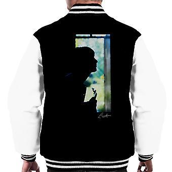 Varsity Jacket Paul Weller Guitar Silhouette maschile
