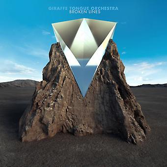 Giraffe Tongue Orchestra - Broken Lines [CD] USA import