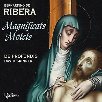 Ribera / De Profundis / Skinner, David - Magnificats & Motets [CD] USA import
