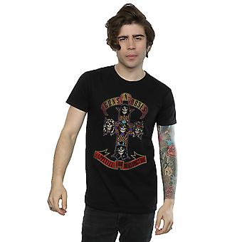 Guns N Roses Men's Appetite for Destuction Distressed T-Shirt