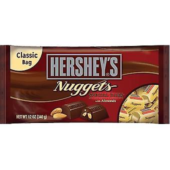 Hershey's Nuggets spesielle mørk sjokolade med mandler godteri
