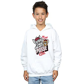 Tom And Jerry Boys Posse Cat Hoodie