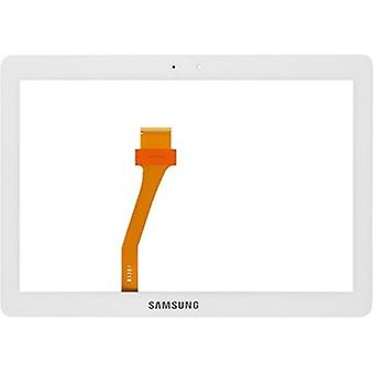 Pekskärm för Samsung Galaxy Tablet 10.1 Flik2 P5100-vit