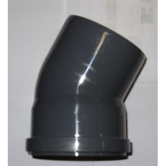 Dei rifiuti raccordi push-fit - piegano - 30 gradi - 50mm di diametro