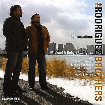 Les frères Rodriguez - importer des Conversations [CD] é.-u.