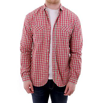 Paul Smith Jeans Mens Classic Fit Checked Shirt