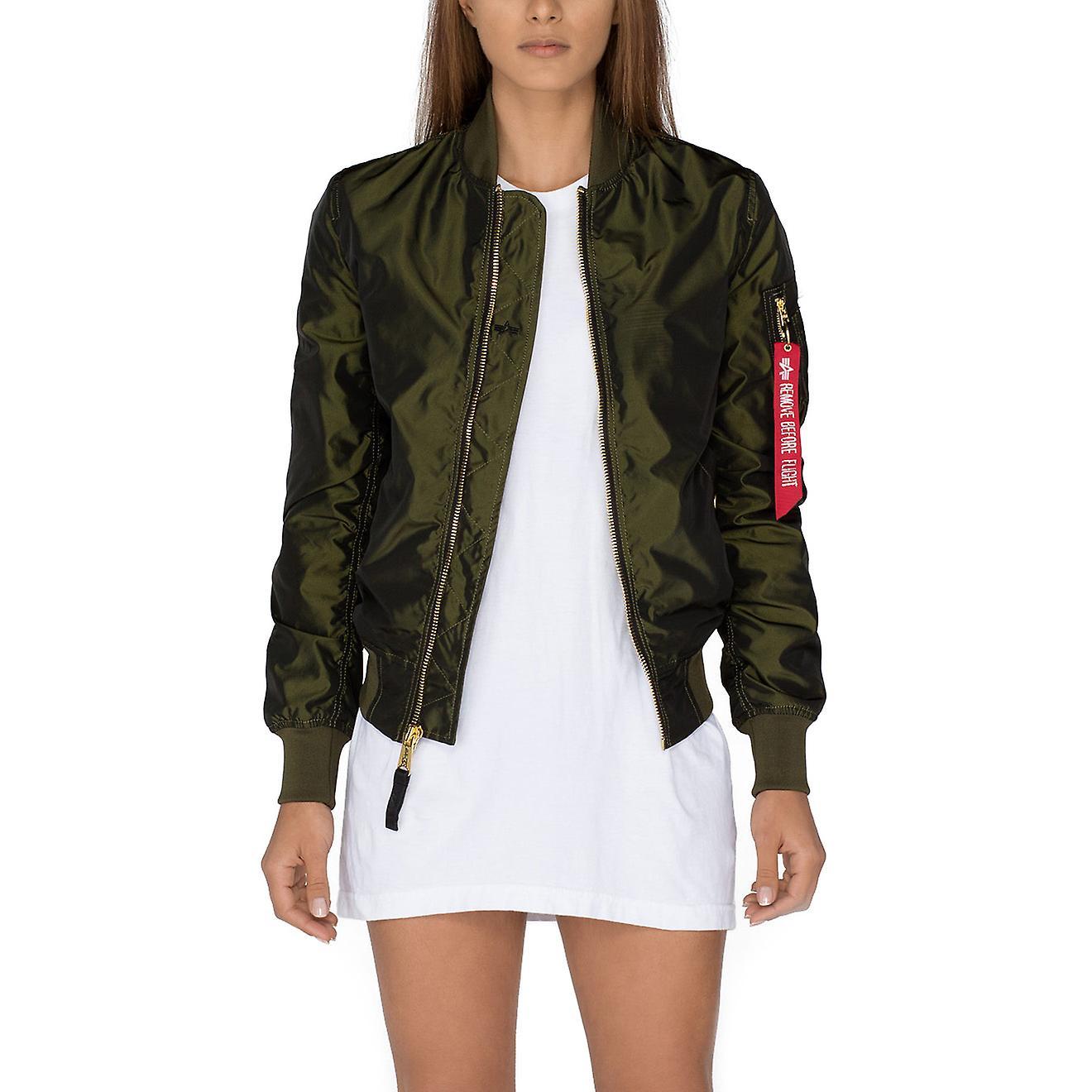 Alpha industries ladies jacket MA 1 LW PM Iridium Wmn