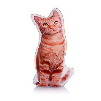 وسادة على شكل ميدي القط الزنجبيل رائعتين