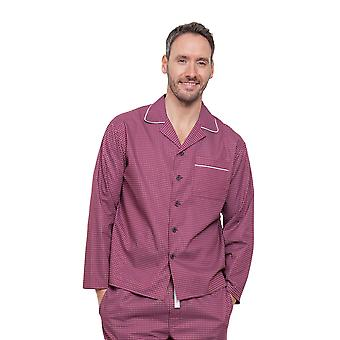 Austin Red géométrique pyjama Pyjama Top Cyberjammies 6282 masculine