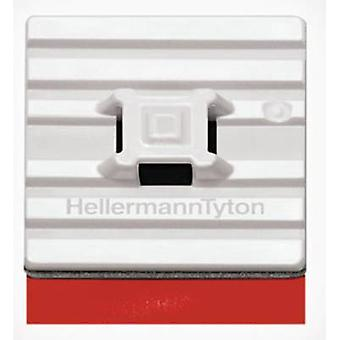 HellermannTyton FMB4APT-I-PA66HS-WH Cable mount Self-adhesive 151-01528 flexible base, 4x thread White 1 pc(s)