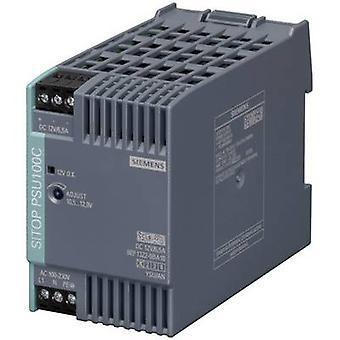 Siemens SITOP PSU100C 12 V/6,5 A Skinnemontert strømforsyning (DIN) 12 V DC 6,5 A 78 W 1 x
