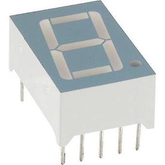 LUMEX Seven-segment display Green 14.2 mm 2.2 V No. of digits: 1 LDS-A512 RI
