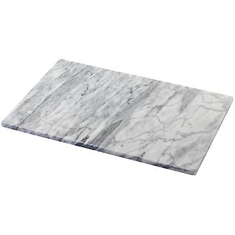 Judge Marble, White 30 X 20cm Oblong Platter