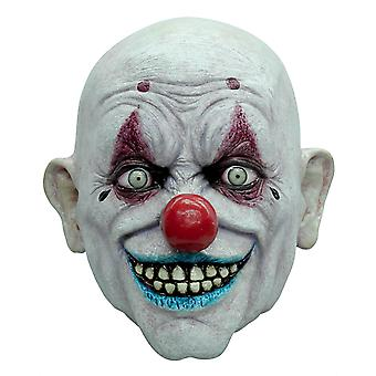 Crappy The Clown Horror Joker Sinister Creepy Mens Costume Overhead Latex Mask